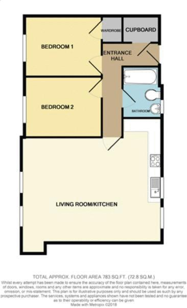 Flat 55b Floor Plan
