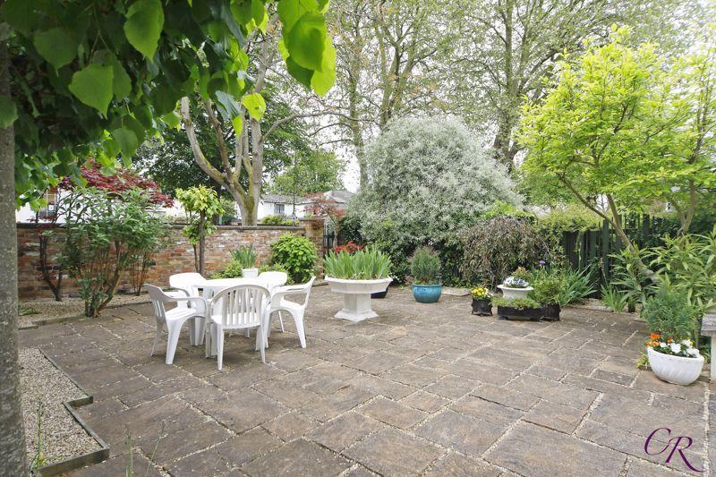 Raised Courtyard Garden