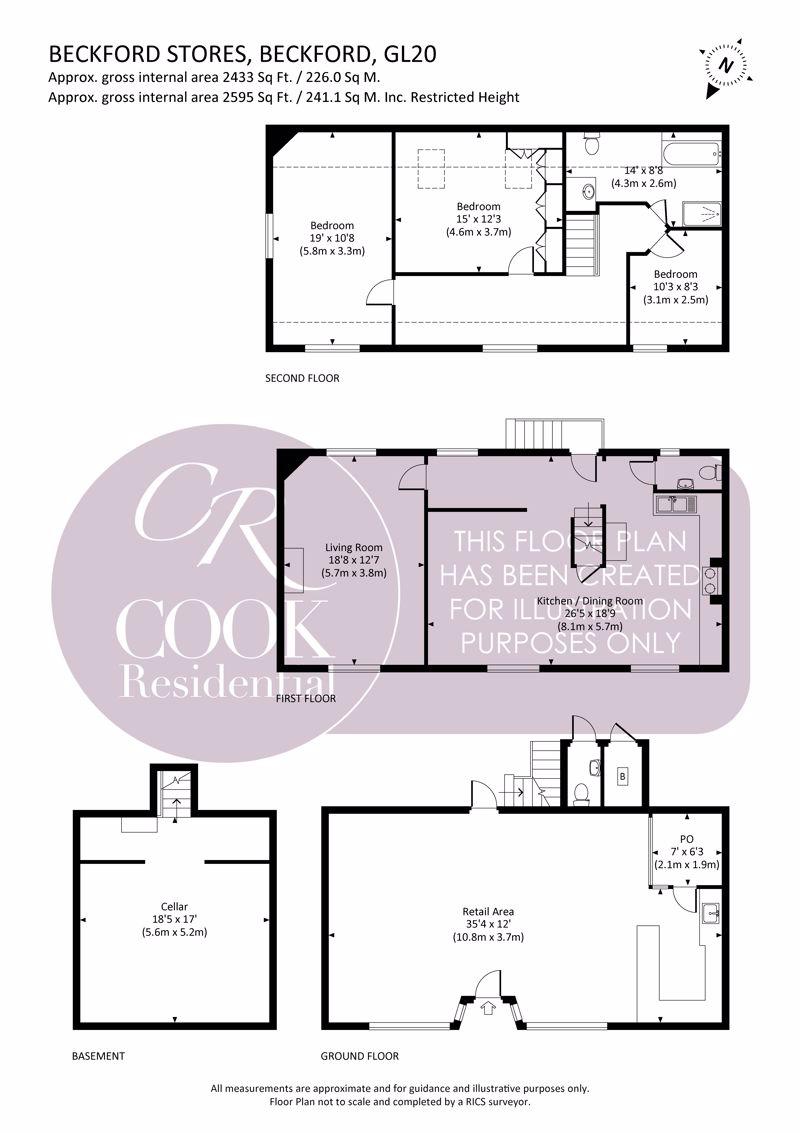 Beckford Floorplan