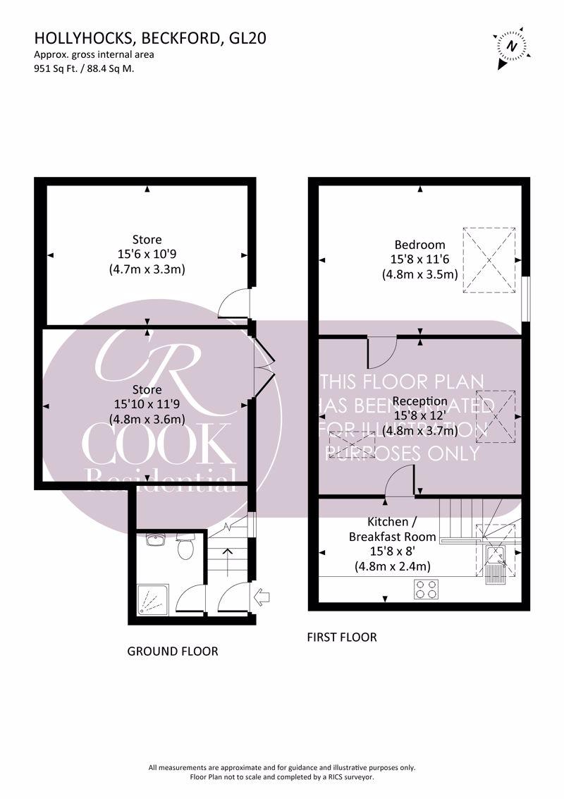 Hollyhocks Floorplan