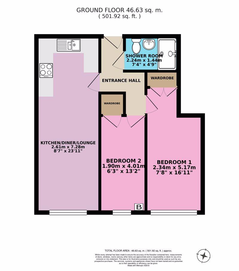 Flat 9 Floor Plan