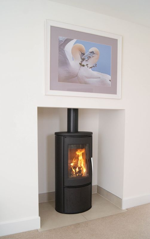 Wood burner feature