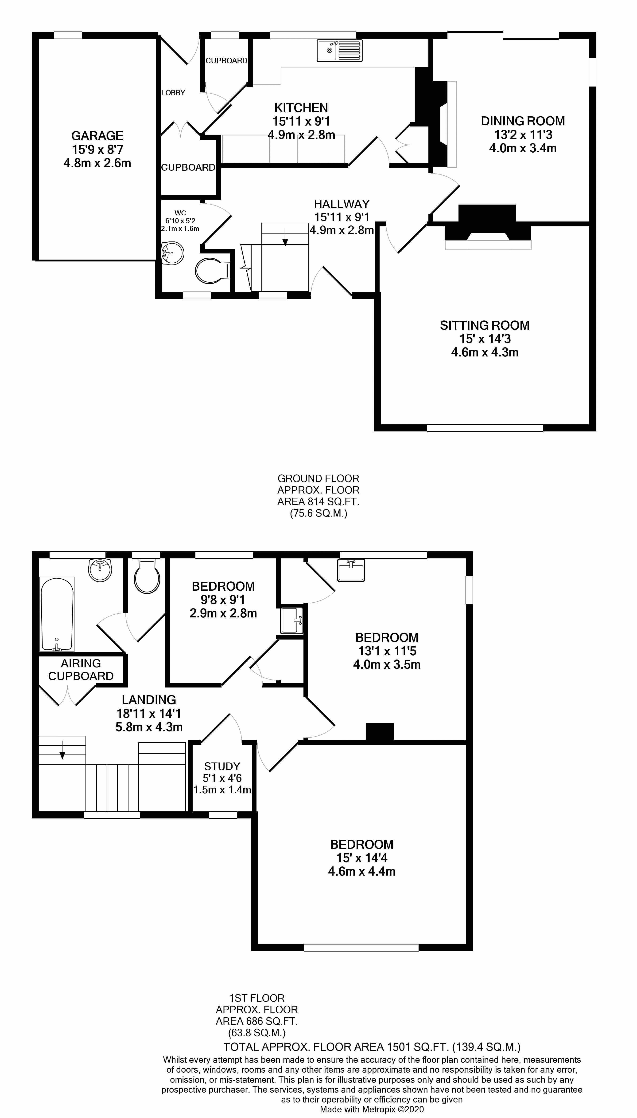8 Rosebarn Floorplan