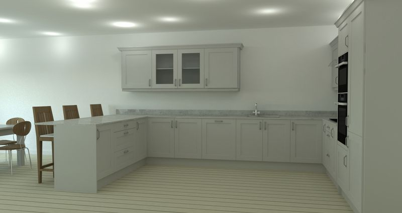 "Kitchens by ""Hinged"""