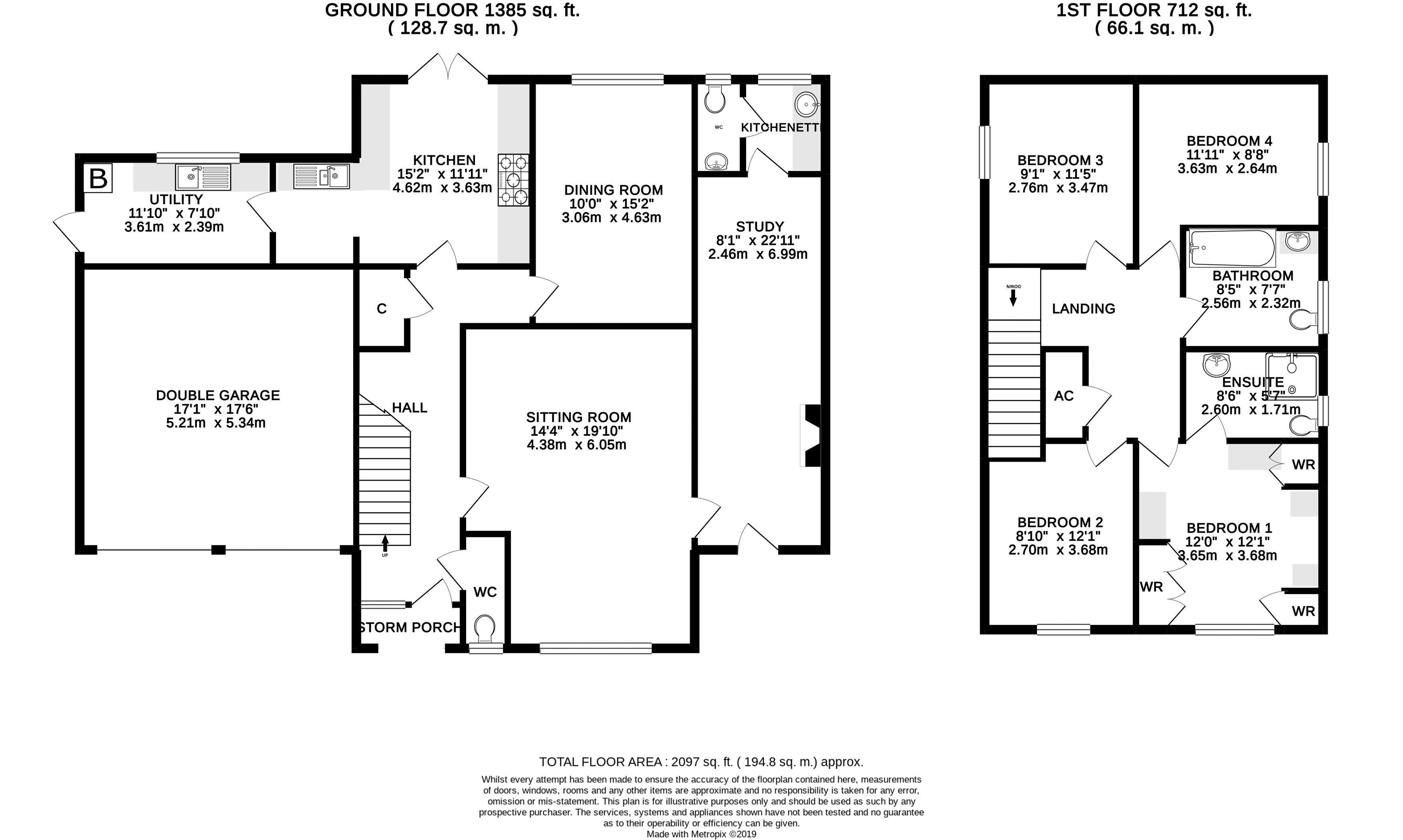 The Rectory Floorplan