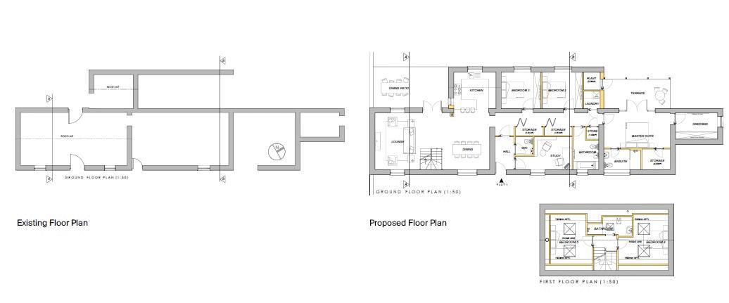 Stone Barn floorplan