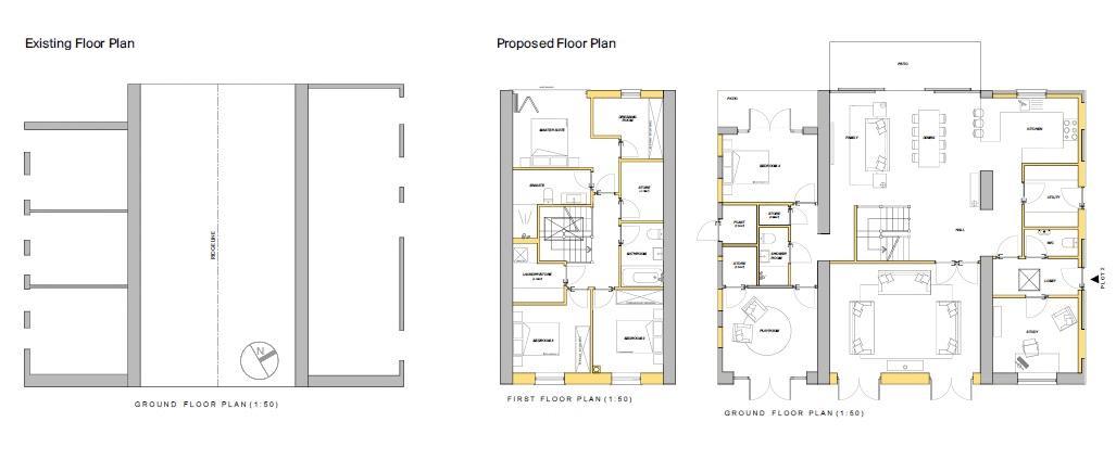 Hay Barn floor plan