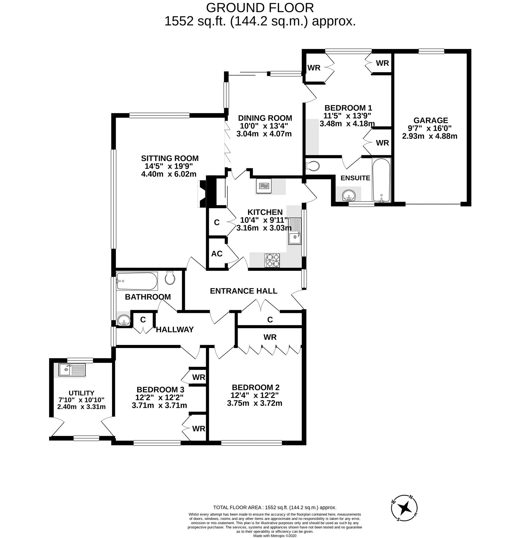 Greystones floor plan