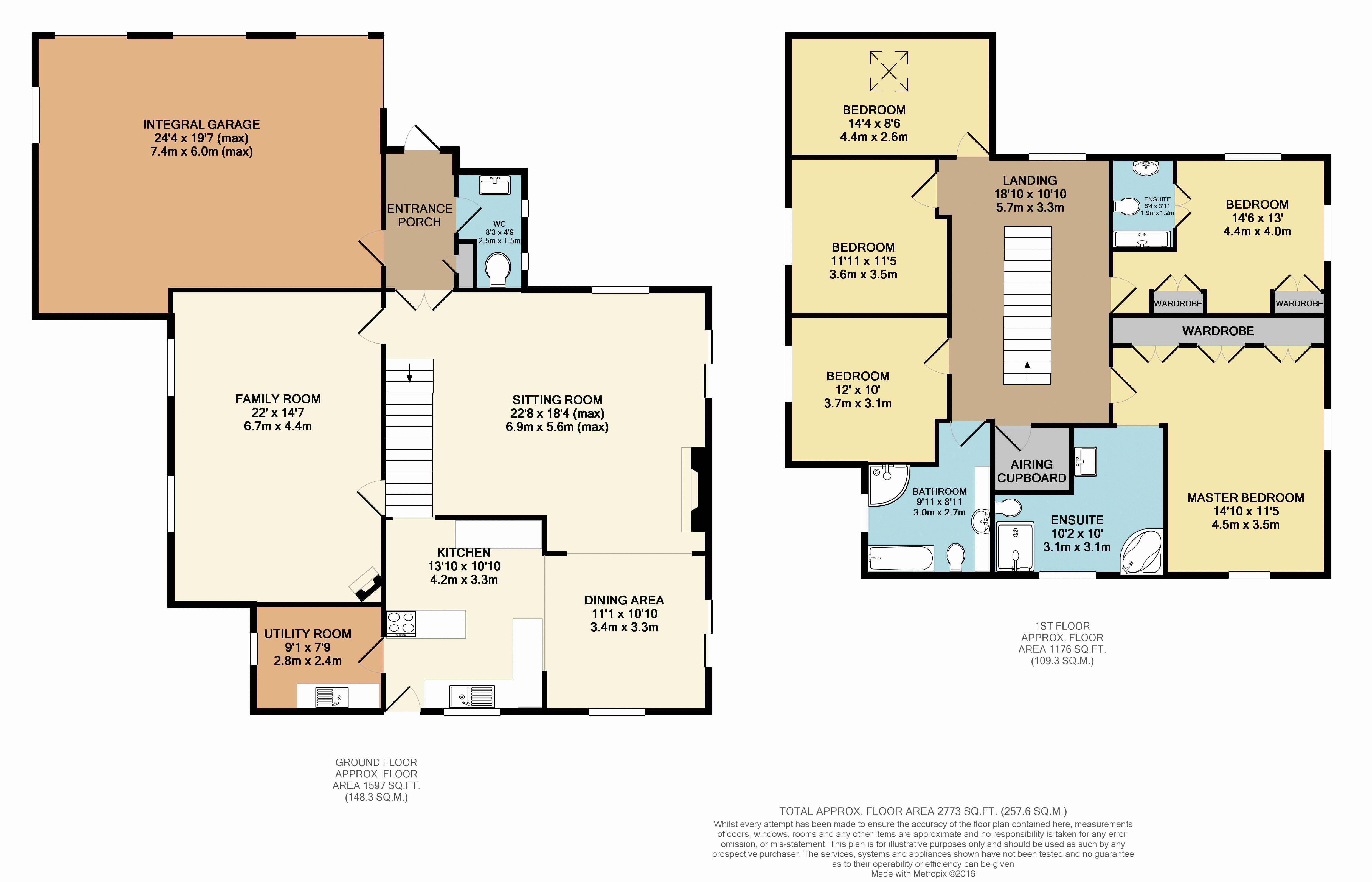Crofton House floorplan