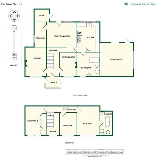 Floor plan Grove farm Tirrill