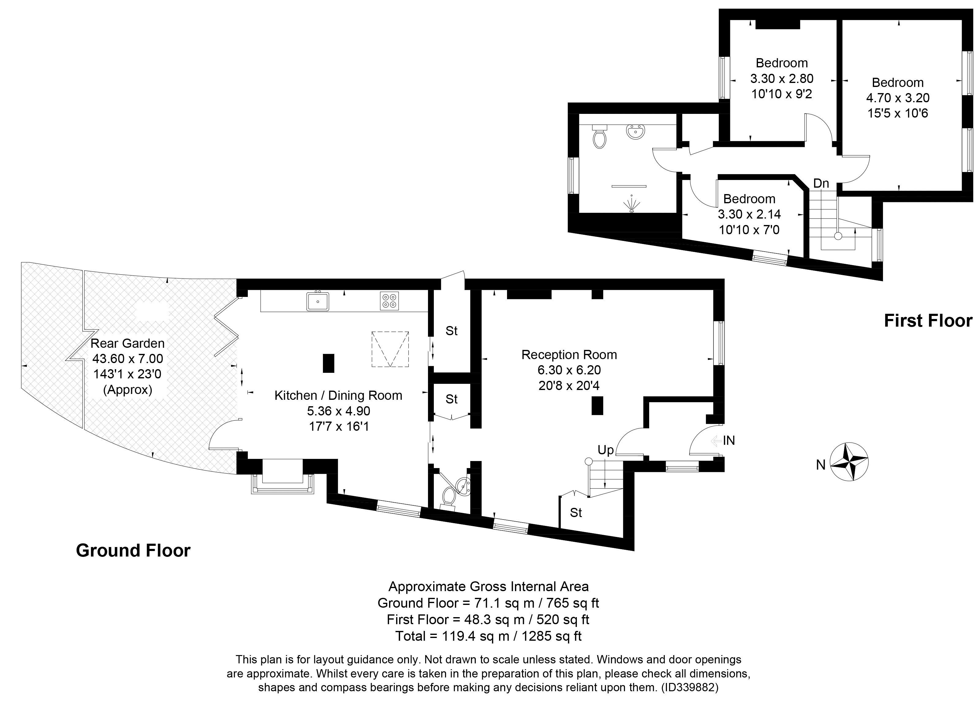 Bexley High Street Floorplan
