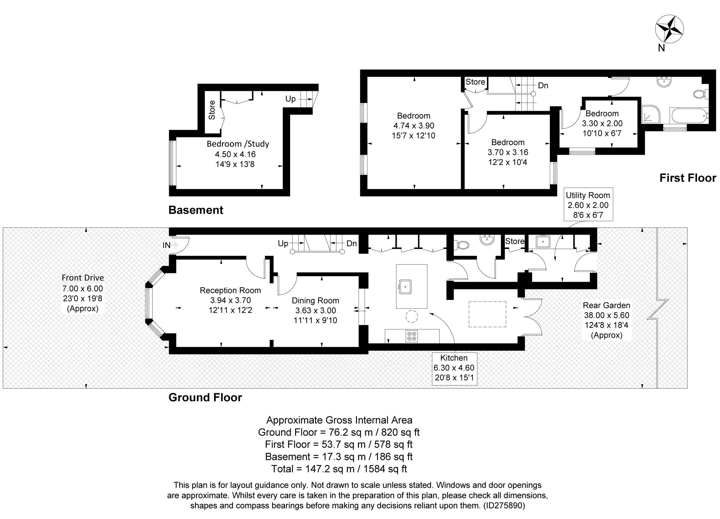Lion Road Floorplan