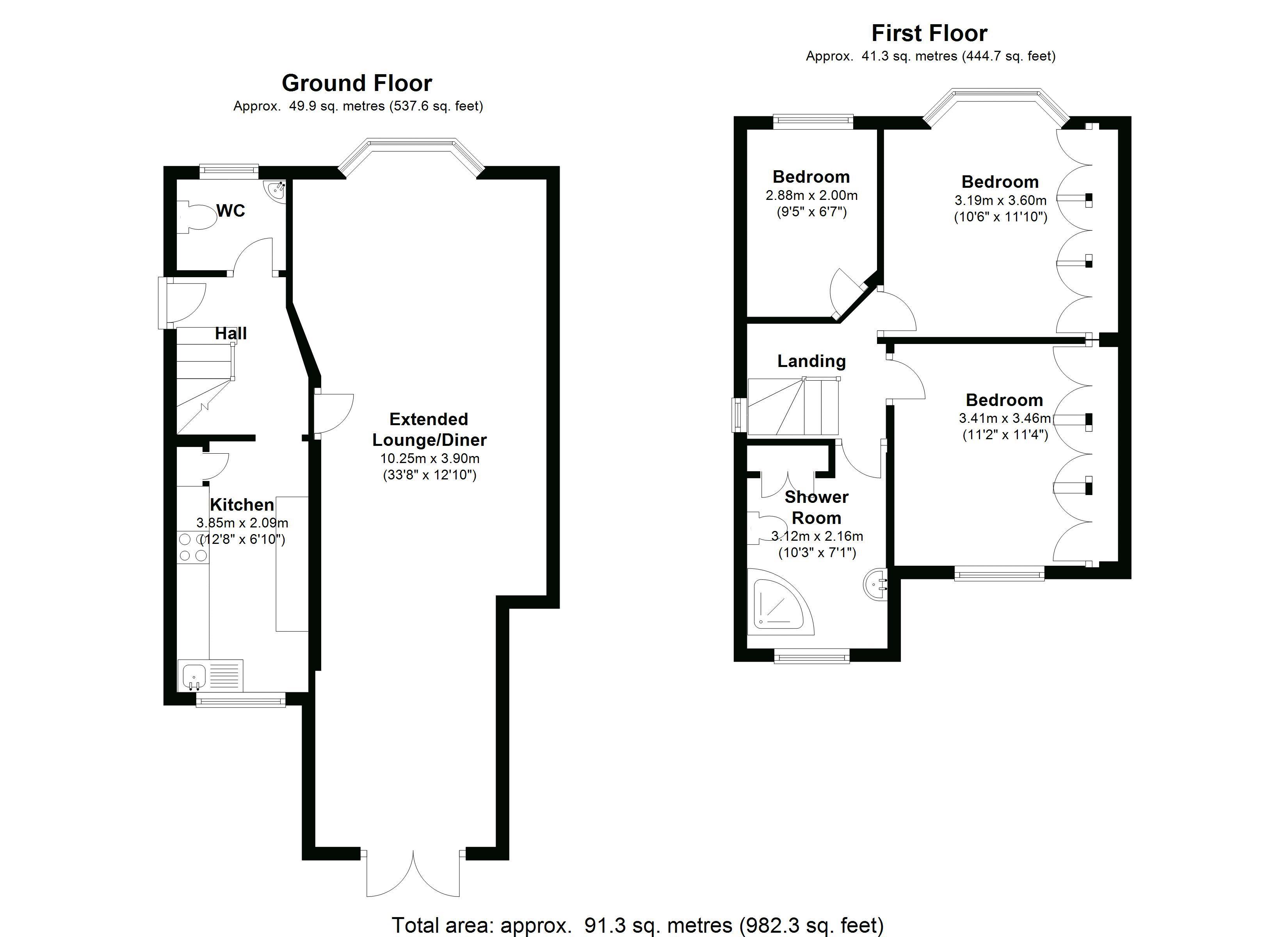 Hazeldene Road Floorplan