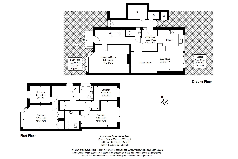 Rye Close Floorplan