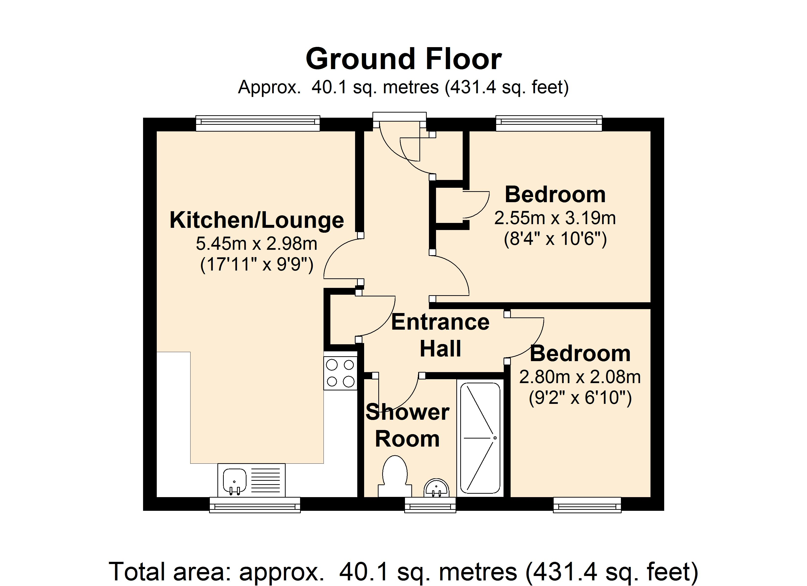 Southend House Floorplan