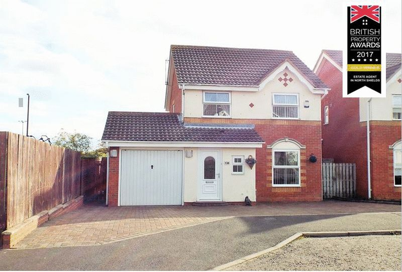 3 Bedrooms Property for sale in Gardner Park, North Shields