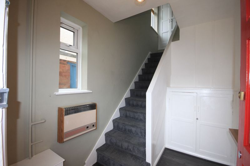 ENTRANCE HALL AND STAIRS TO FLAT
