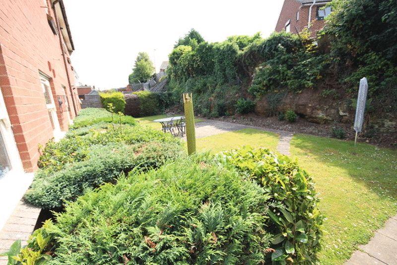 Communal rear gardens