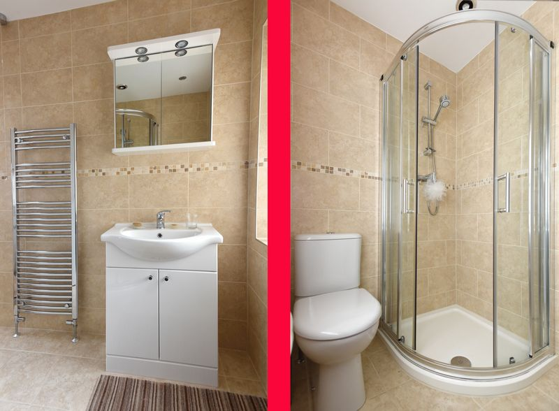 RE-FITTED SHOWER ROOM