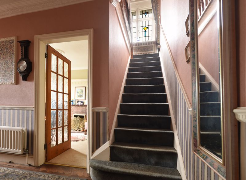 ENTRANCE HALL to STAIRS