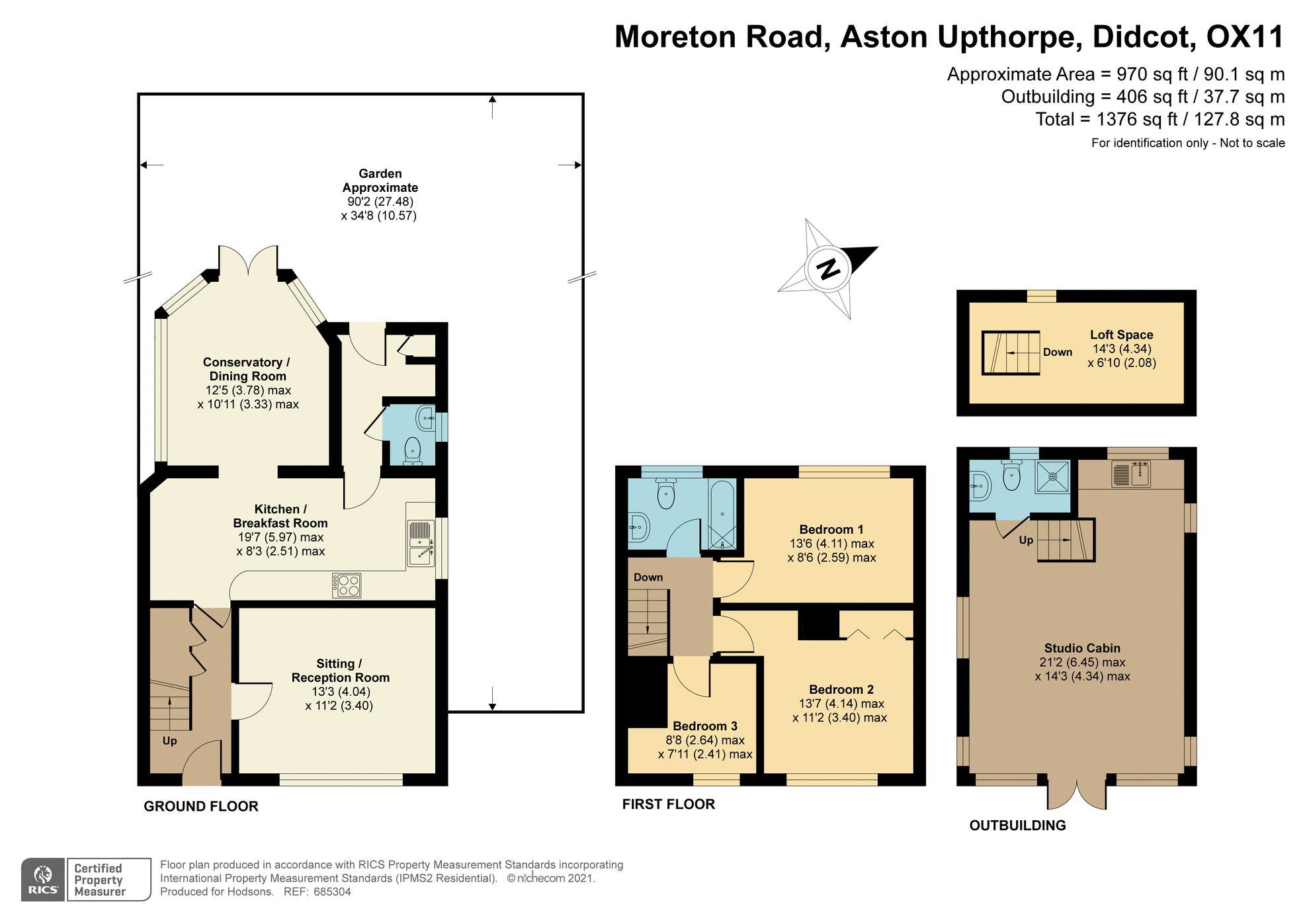 Moreton Road Aston Upthorpe