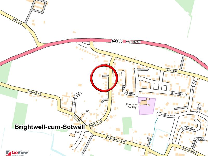 Church Lane Brightwell Cum Sotwell