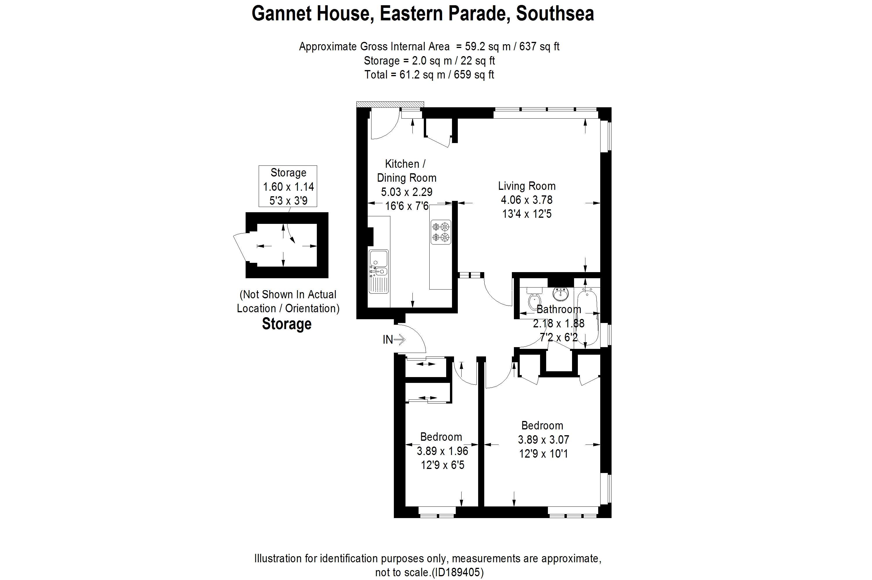 Flat 3, Gannet House