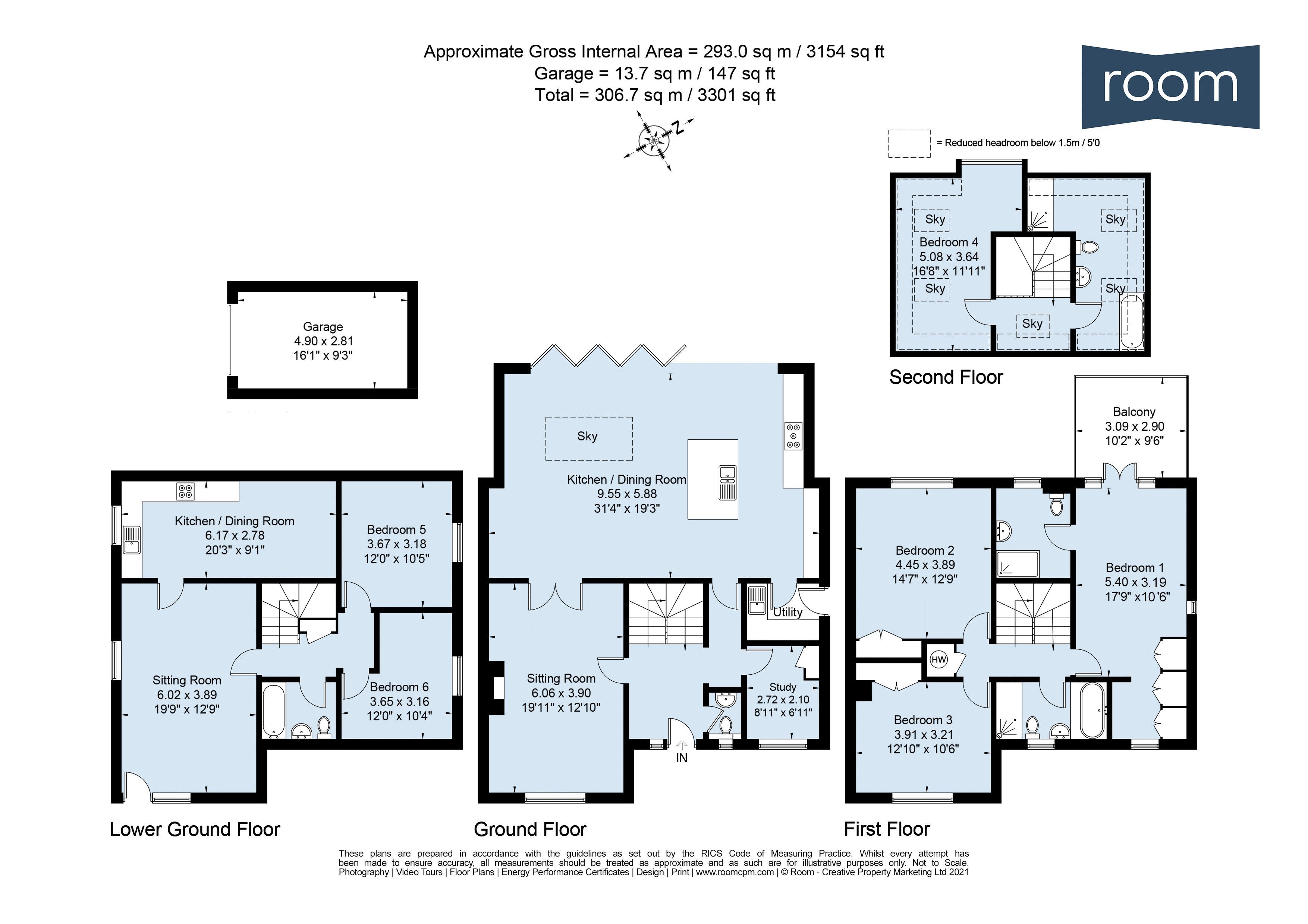 3SAW - Floorplan