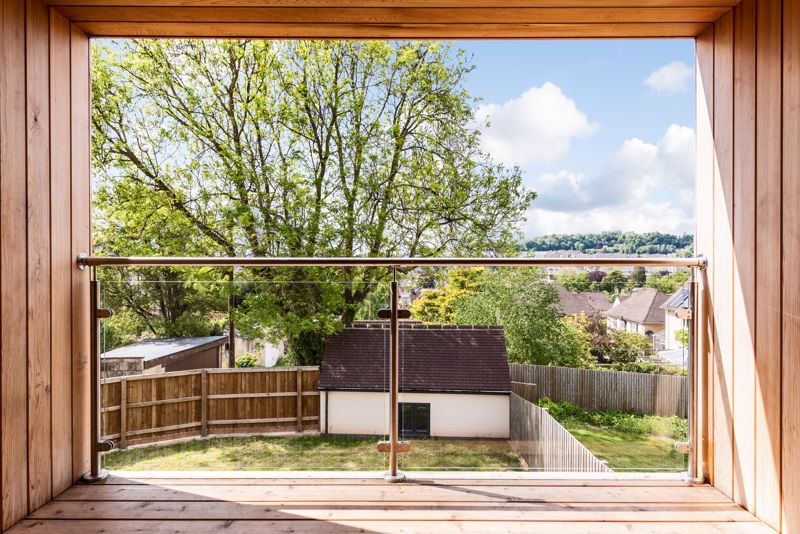 Enclosed Balcony From Master Bedroom
