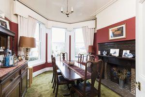 Bay windowed Dining Room
