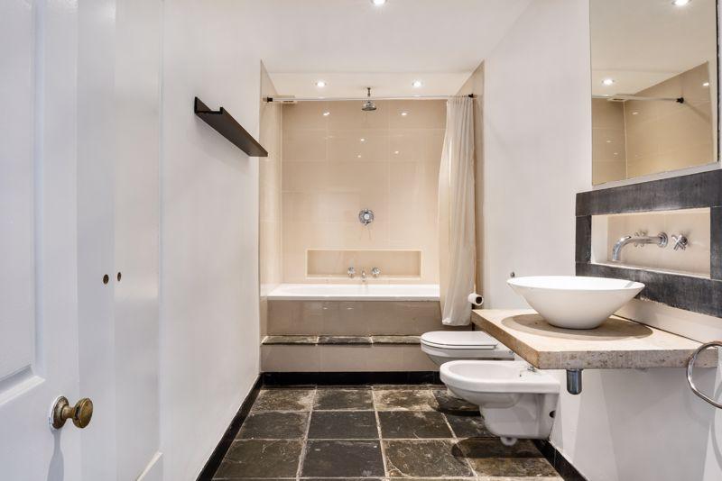 Bathroom With Tiled Floor