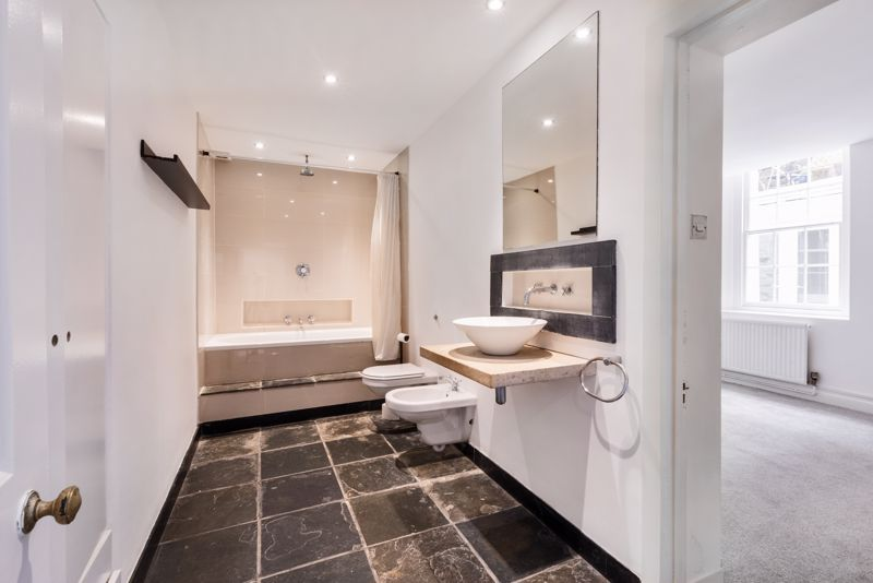 Bathroom With Access To Bedroom One