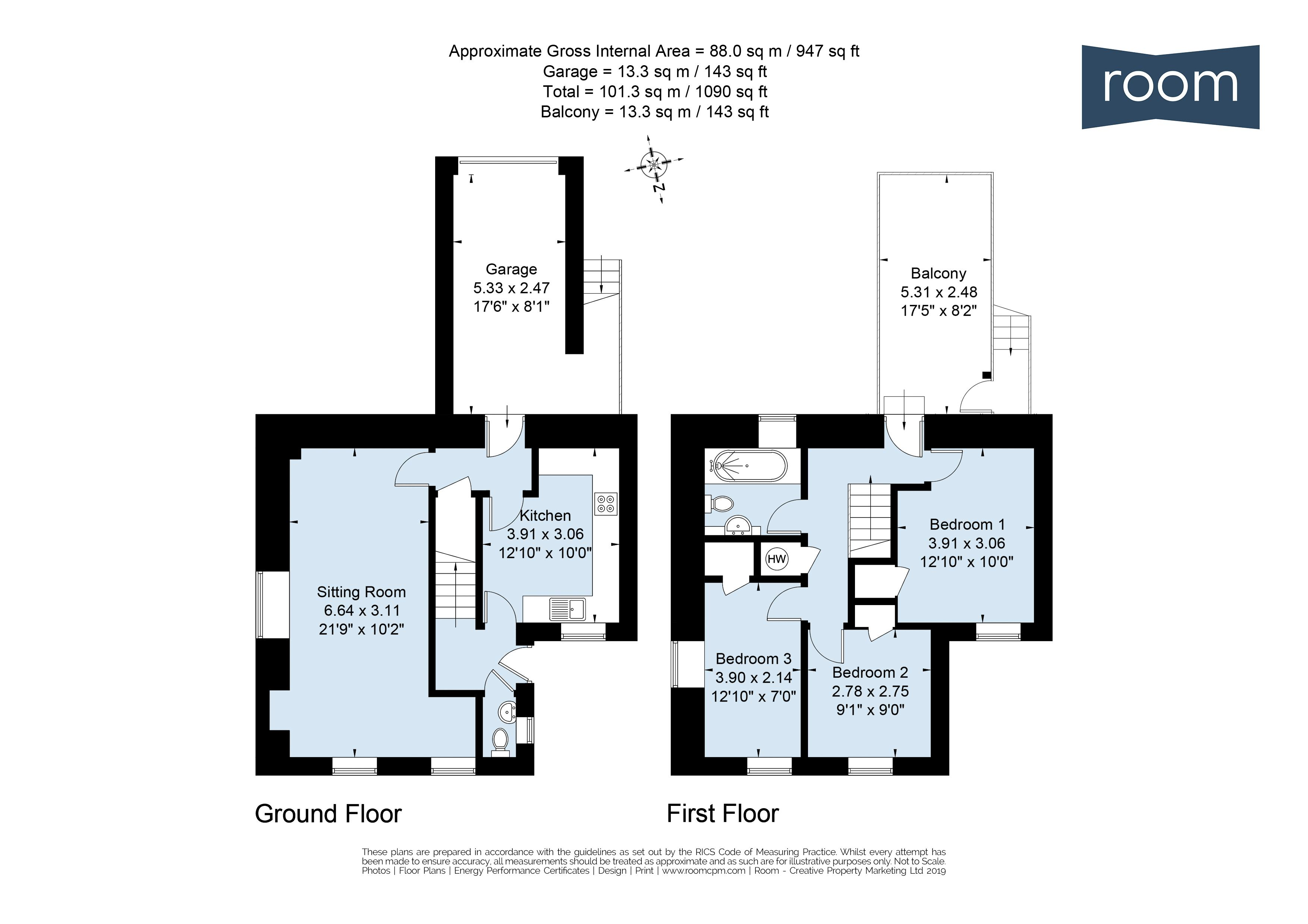 5aSW - Floorplan
