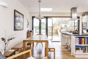 Dining Area With Engineered Oak Flooring