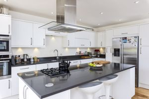 Contemporary Kitchen With Appliances