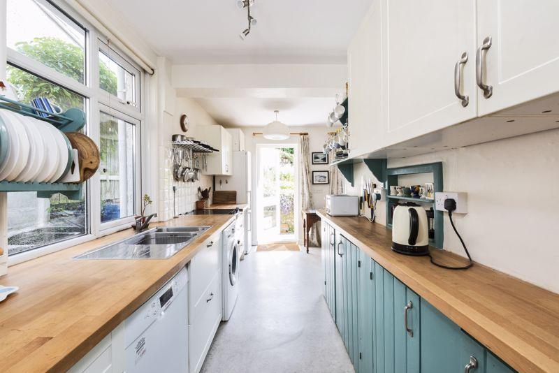 Modern Kitchen With Direct Garden Access