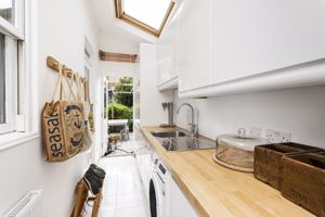 Utility Room With Velux Roof Lights