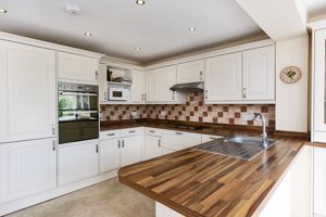 Modern Kitchen With Integral Appliances