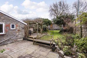 Rear Garden With Patio  & Pergola
