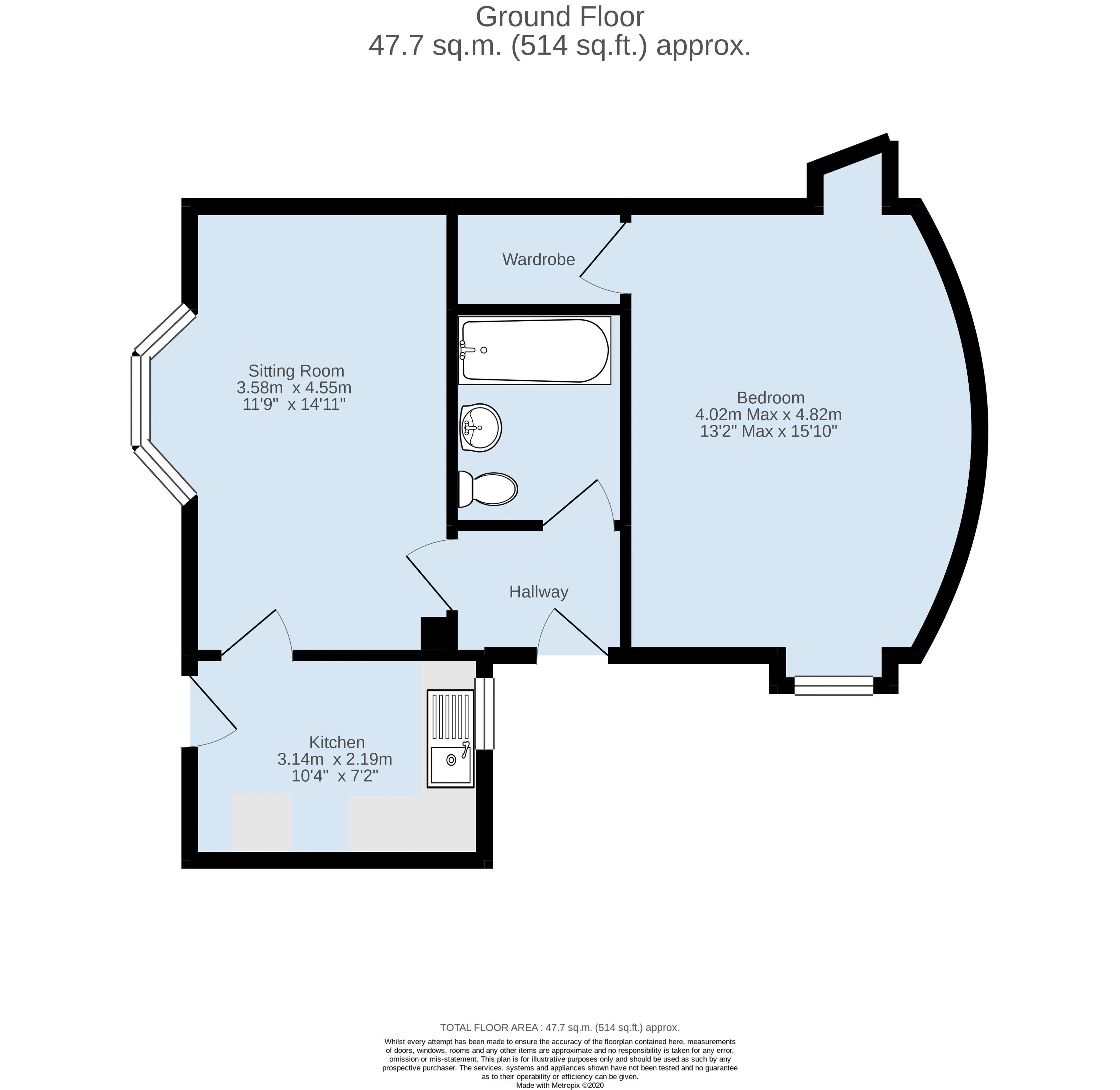 41aGPS-F1 - Floorplan