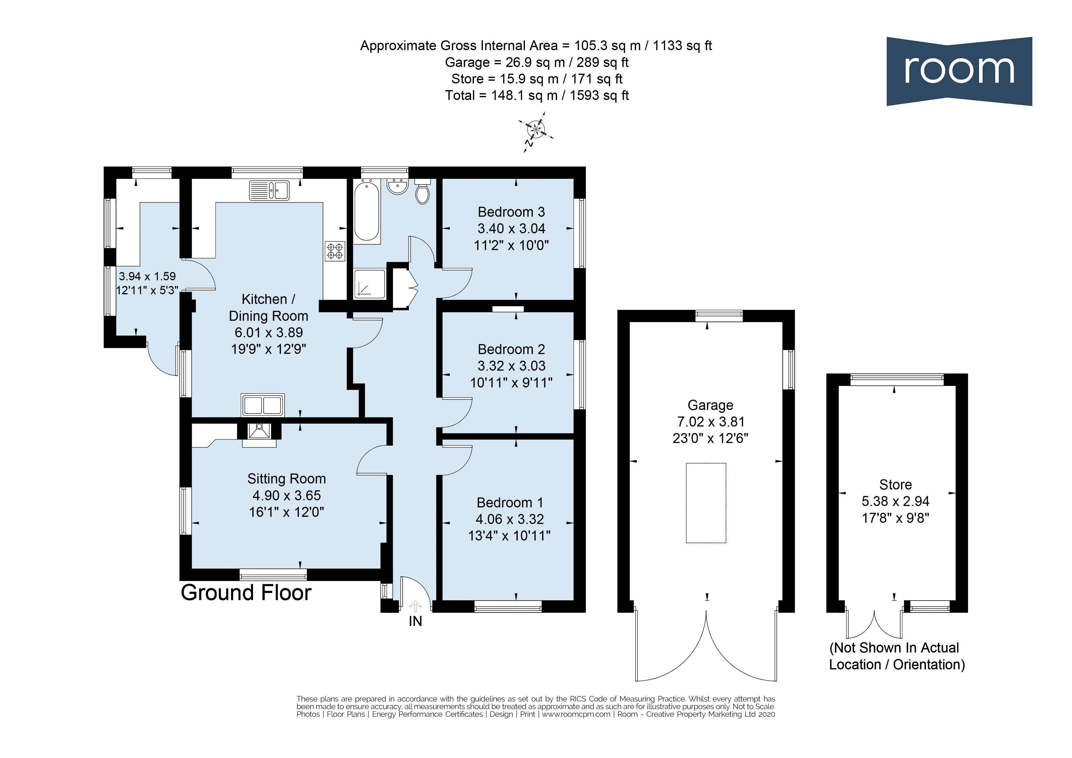 WV-SH-S - Floorplan