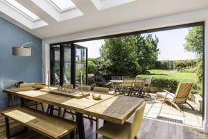 Bi-Fold Doors Leading To Gardens