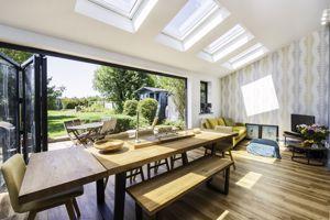 Open Plan With Bi Fold Doors
