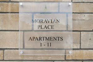 Moravian Place Signage