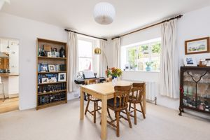 Dining Room With Dual Aspect Windows