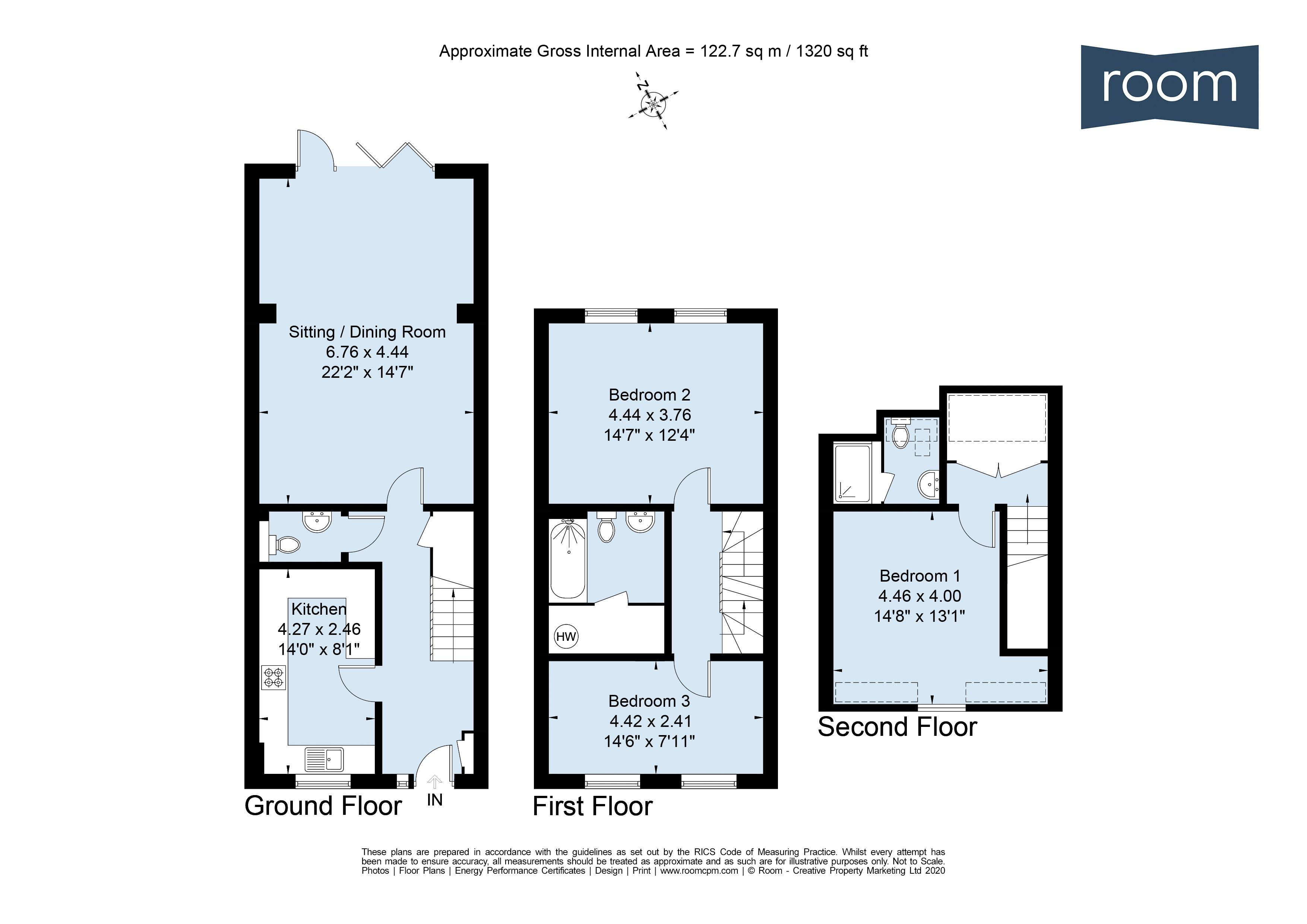 TL-TF-W - Floorplan
