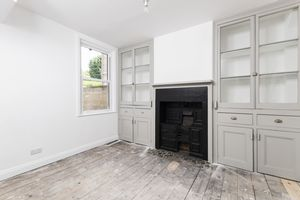 Dining Room with Fitted Welsh Dressers and Cast Ir