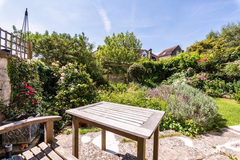 Sunny Walled Garden