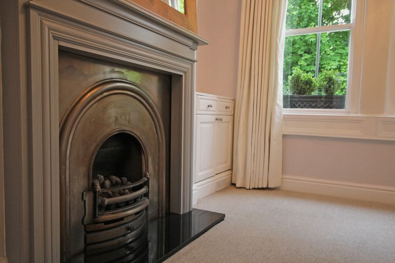 Living Room Fire Place