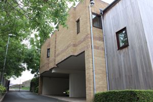 Side view of flats - Private Parking below